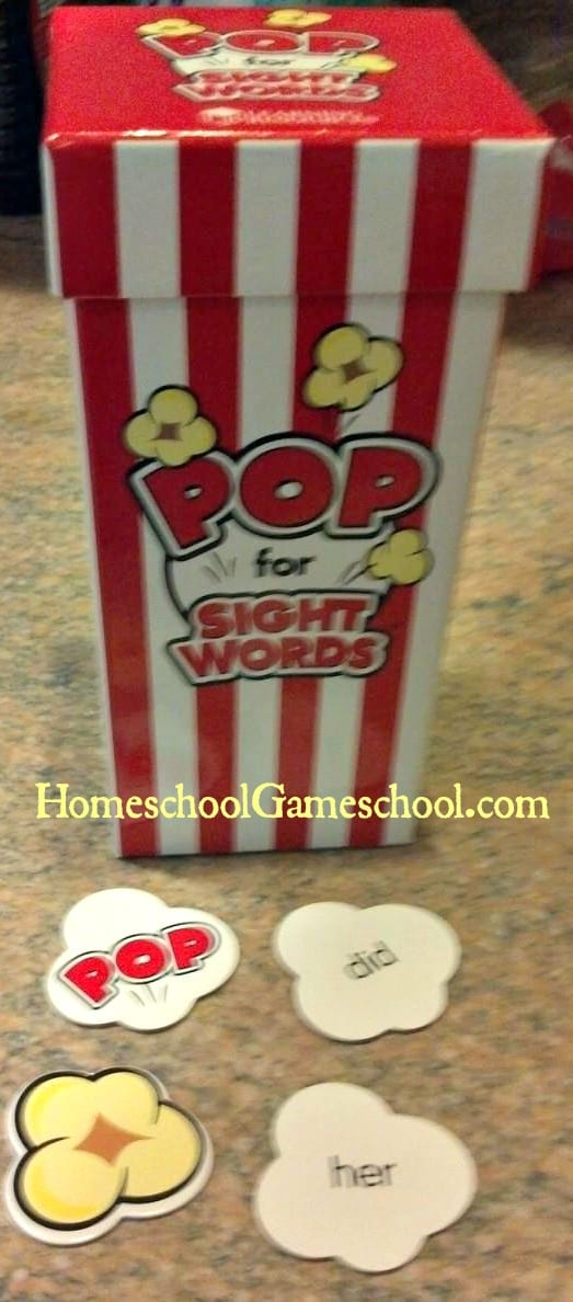 POP for Sight Words Review