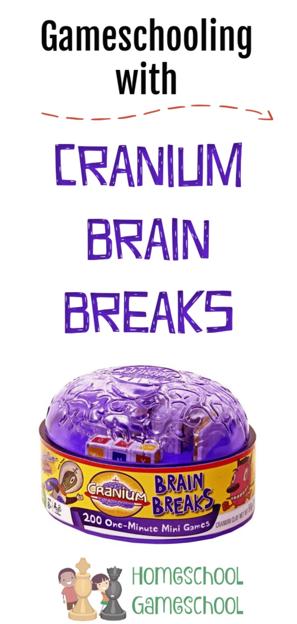 Cranium Brain Breaks Game Review - Gameschooling @ HomeschoolGameschool.com
