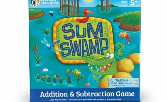 Sum Swamp Math Game Review - Gameschooling @ HomeschoolGameschool.com