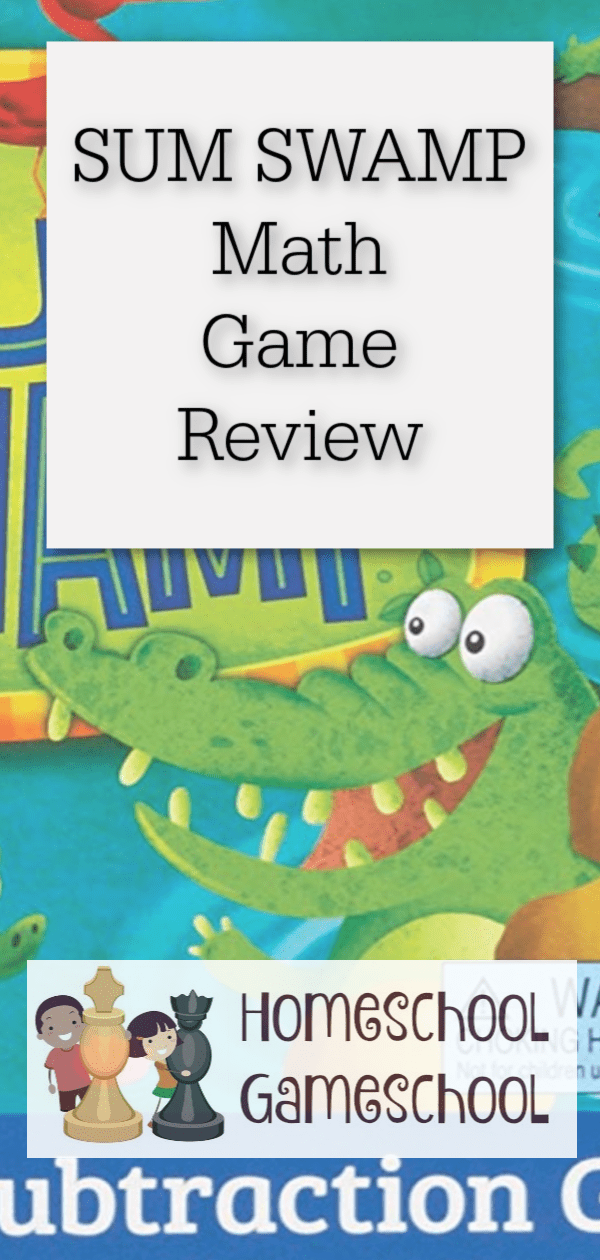 Sum Swamp Review - Math Games and gameschooling @ HomeschoolGameschool.com