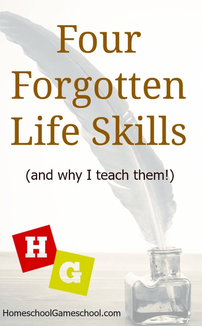 Forgotten Life Skills To Teach