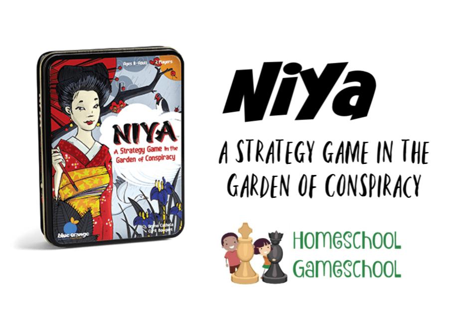 Niya Game Review - Gameschooling & Secular Homeschooling at HomeschoolGameschool.com