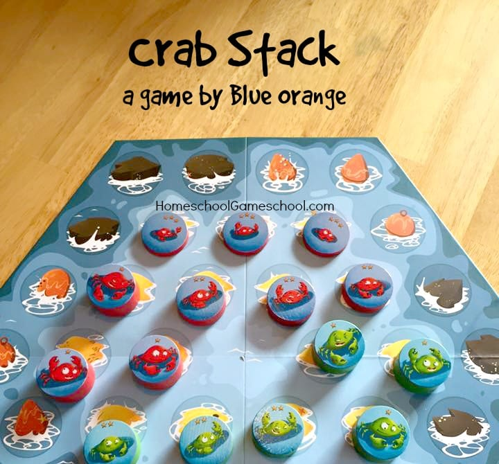 Crab Stack Game Review by Blue Orange Games