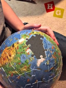Ravensburger XXL Children's Puzzleball Globe