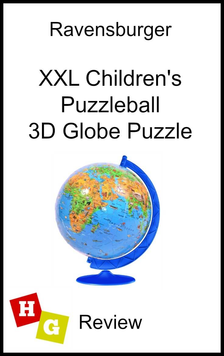 Children's 3D Globe Puzzleball Review