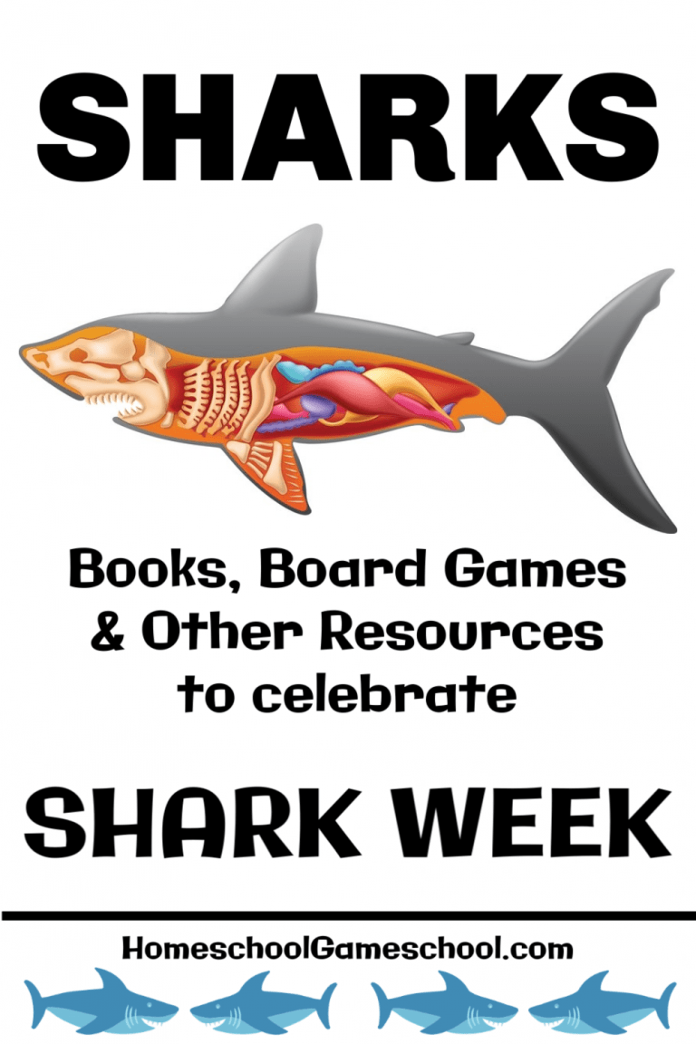 Shark Week - Books, Board Games, and Resources About Sharks
