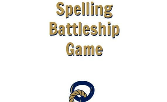 Free Printable Spelling Battleship Game