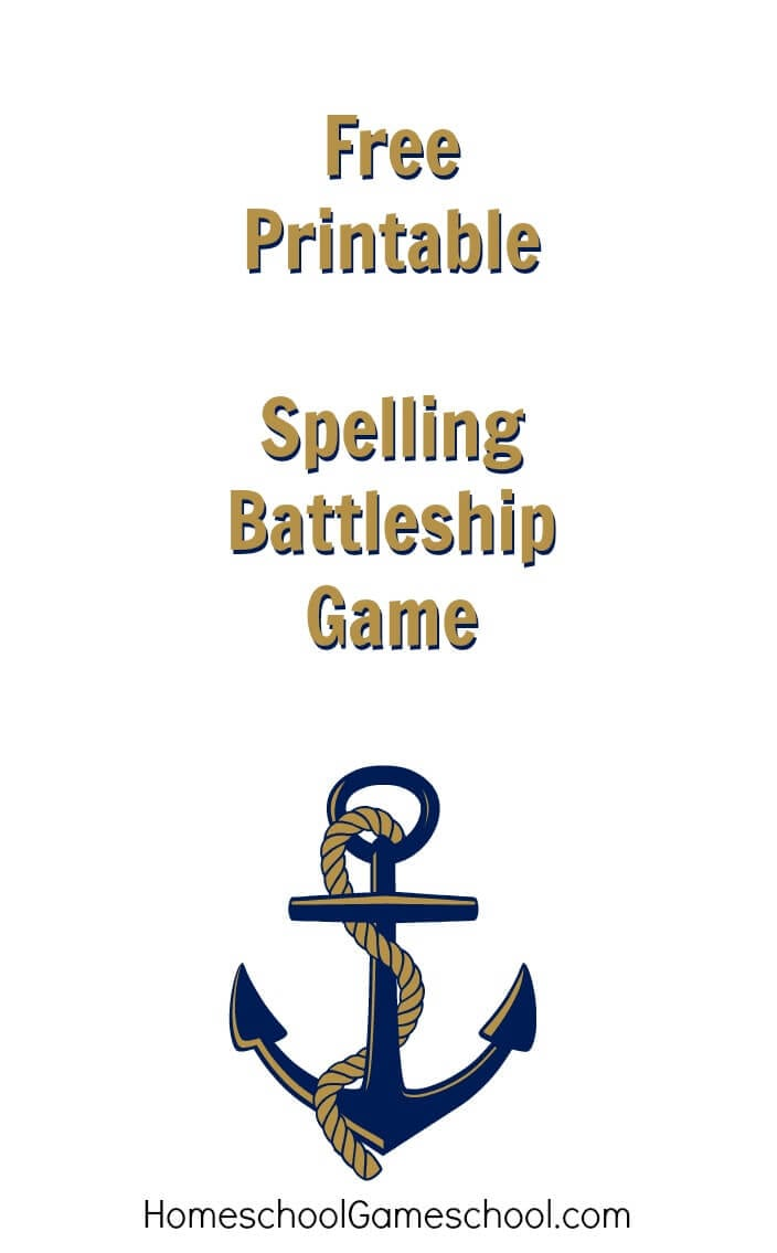 Spelling Battleship Free Game Download Homeschool Gameschool