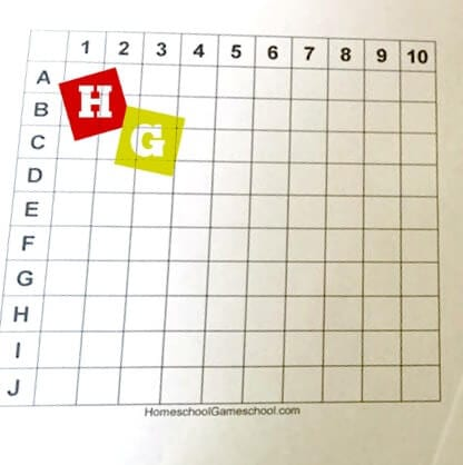 image about Printable Battleship known as Printable Battleship Match » Homeschool Gameschool