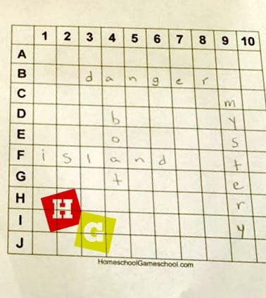 image about Printable Battleship Game referred to as Printable Battleship Sport Homeschool Gameschool