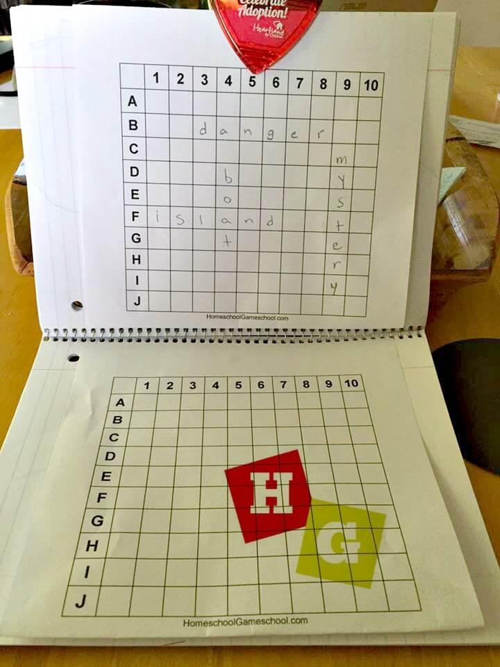 Printable Battleship Game