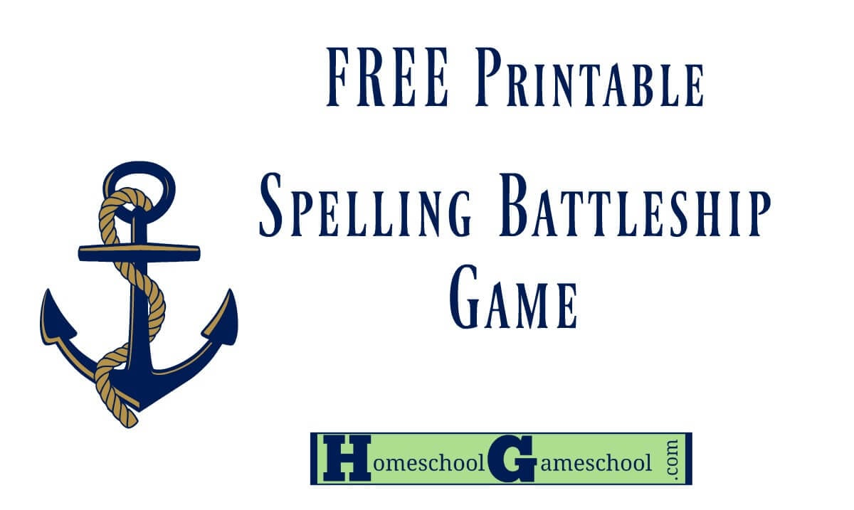 photograph regarding Printable Battleship Game named Spelling Battleship Absolutely free Video game Down load » Homeschool Gameschool