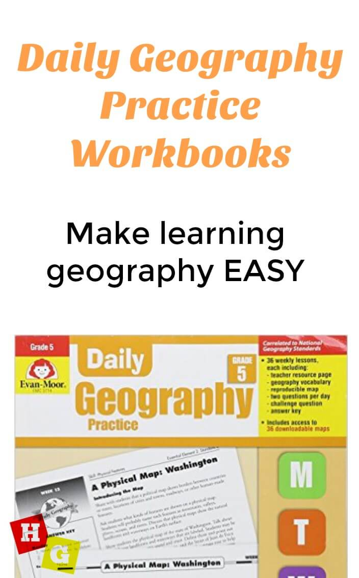 Evan Moor Geography Workbooks