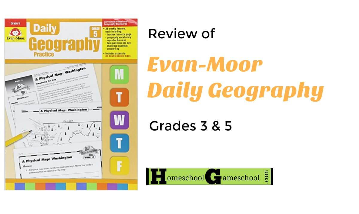 Evan-Moor Daily Geography Practice Workbooks