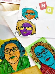 Introduce your kids to the art of Andy Warhol with this easy Andy Warhol Art Project for Kids