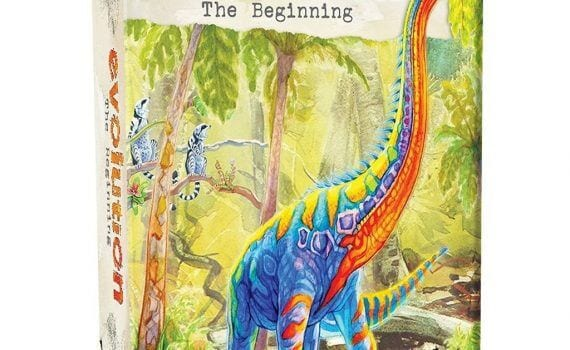 Review of Evolution The Beginning Game - Homeschool Gameschool