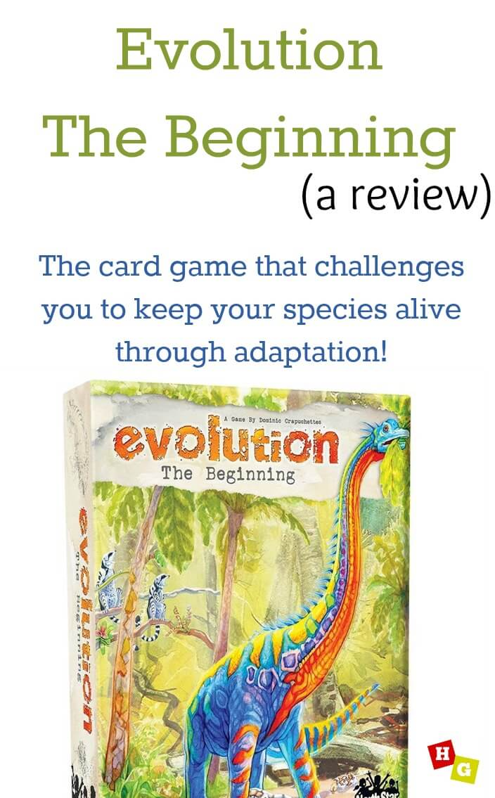 Evolution The Beginning Game Review by Homeschool Gameschool (secular science game!)