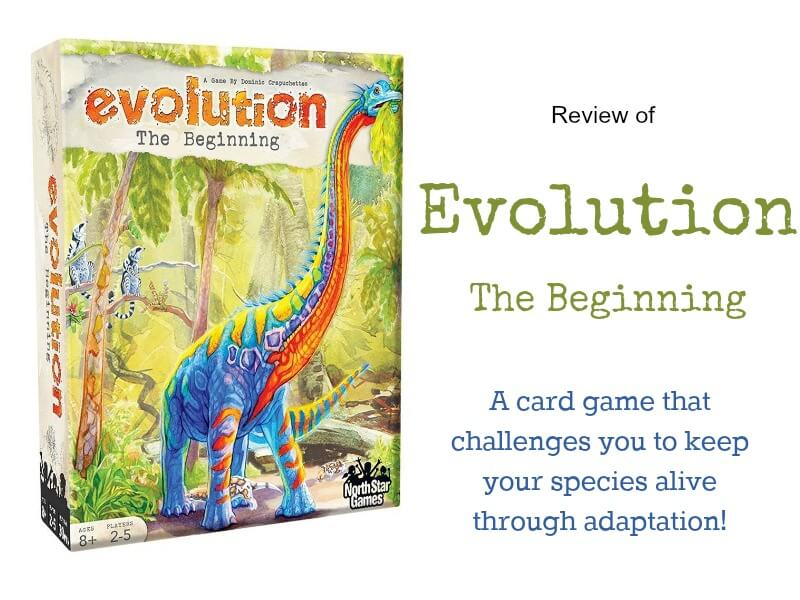 Evolution The Beginning Game Review - HomeschoolGameschool.com