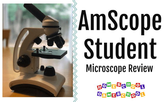 AmScope Microscope review for homeschool