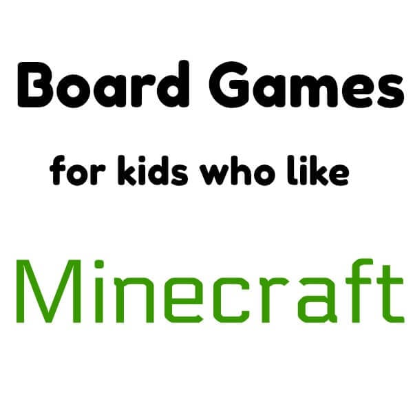 Board Games for Kids that Like Minecraft - Games like