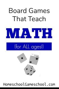 Board Games That Teach Math - Games for Math