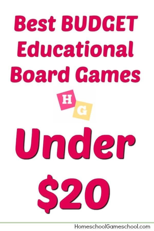 Board Games Under $20