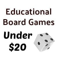 Budget Educational Board Games - Gameschooling