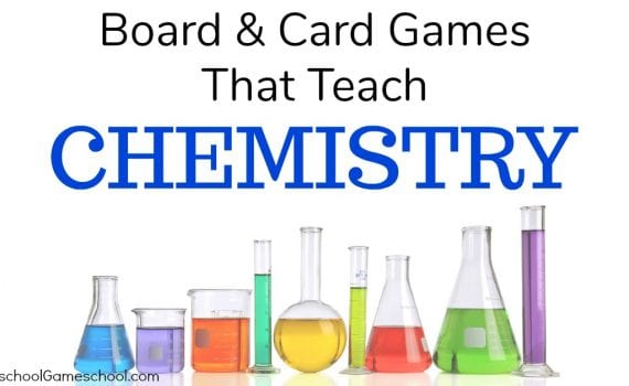 Board Games that Teach Chemistry, Chemistry Games, Gameschooling