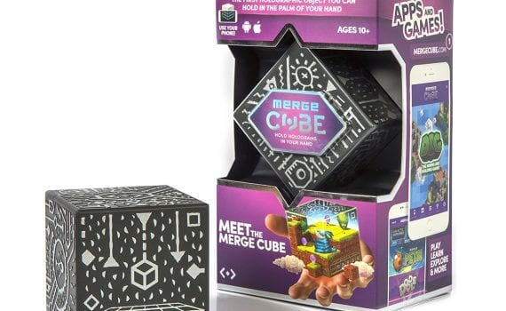 Merge Cube - Augmented Virtual Reality in Education, HomeschoolGameschool.com