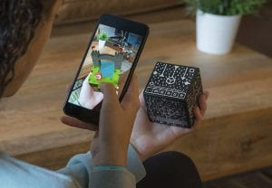 Merge Cube - Using Virtual and Augmented Reality in Education - HomeschoolGameschool.com secular homeschooling