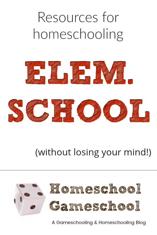 Resources for homeschooling elementary school