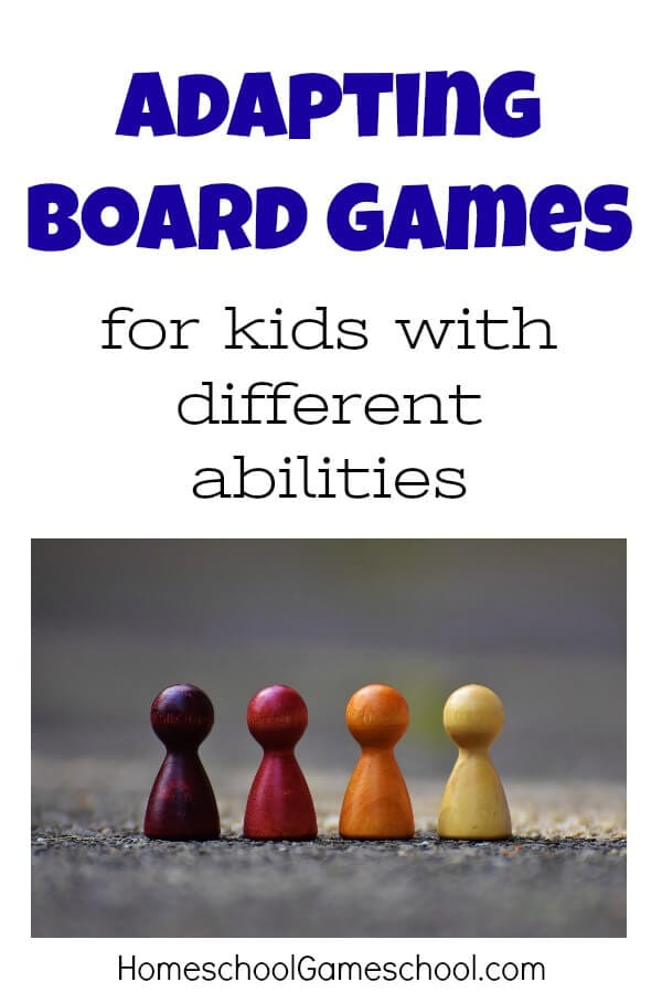 Gameschooling - Adapting Games for Special Needs & Preschool