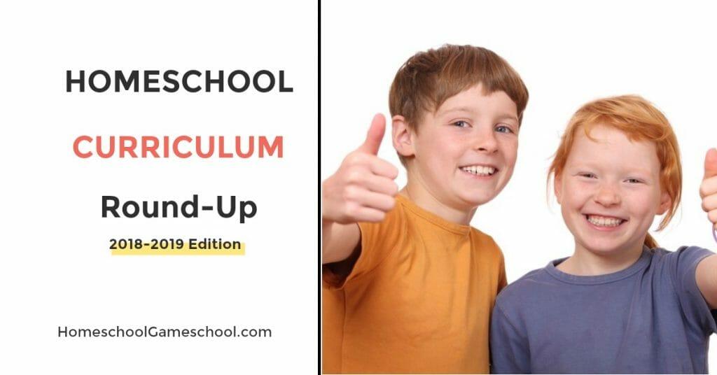 Secular Homeschool Curriculum Roundup 2018 - 2019