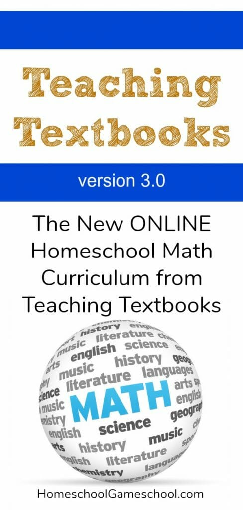 Teaching Textbooks 3.0 Review, Teaching Textbooks Online Homeschool Math Curriculum Review