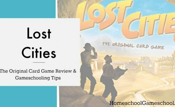 Lost Cities Card Game Review & Gameschooling Tips