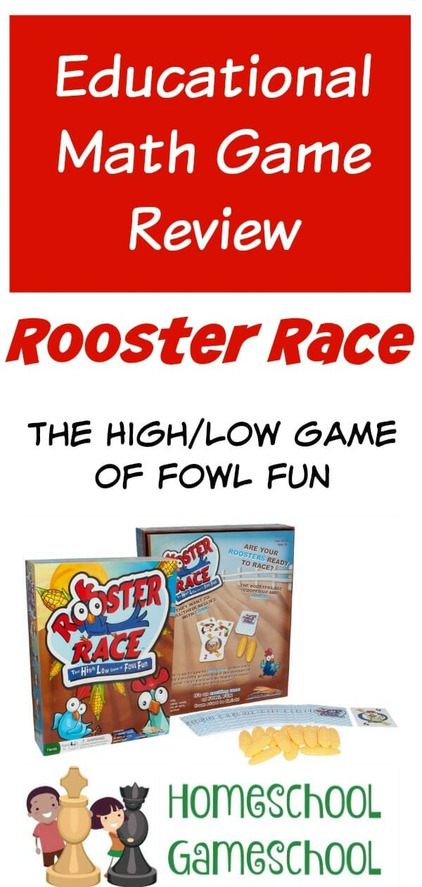 Rooster Race Math Game