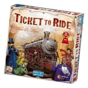 Ticket to Ride Game Review - Homeschooling @ HomeschoolGameschool.com