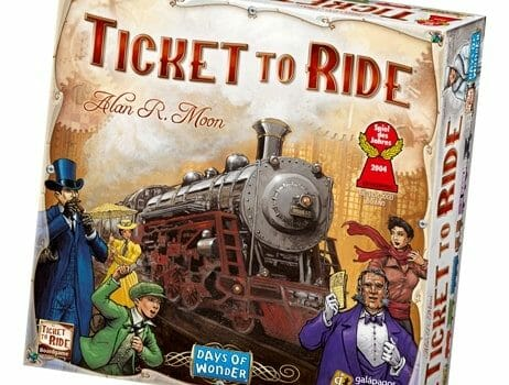 Ticket to Ride Game Review - Homeschooling @ HomeschoolGameschool.com