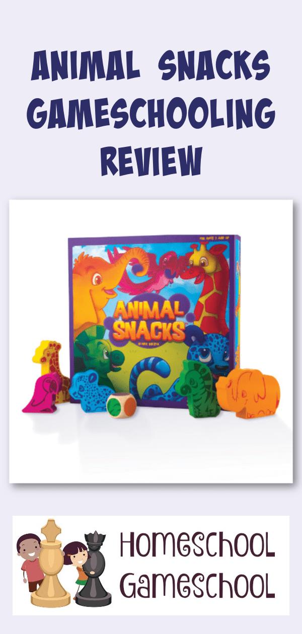 Animal Snacks Preschool Game Review