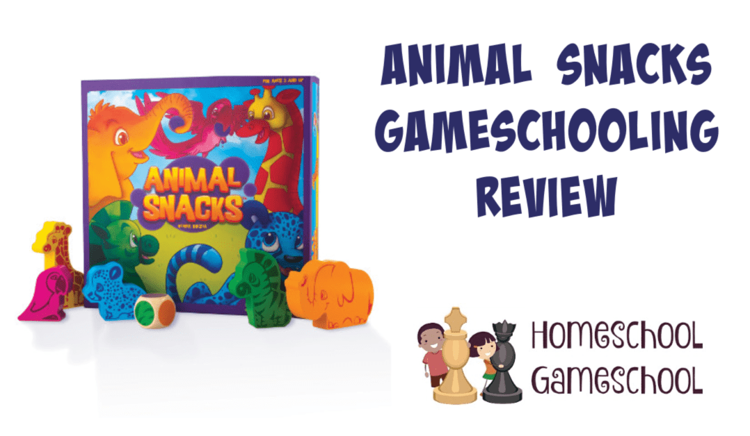 Animal Snacks Game Review - Gameschooling @ HomeschoolGameschool.com