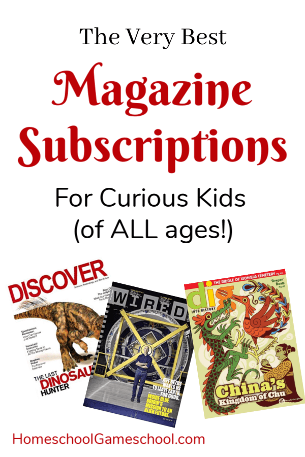 The Best Magazines for Kids - Secular Homeschooling & Gameschooling @ HomeschoolGameschool.com
