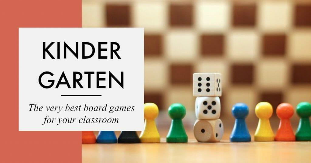 The best board games for kindergarten, games for kindergarten - Gameschooling & Secular Homeschooling @ HomeschoolGameschool.com