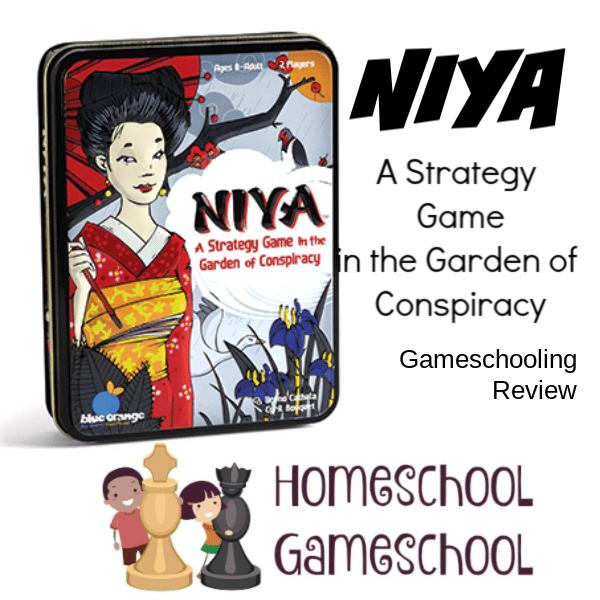 Niya Game Review - Gameschooling & Secular Homeschooling @ HomeschoolGameschool.com