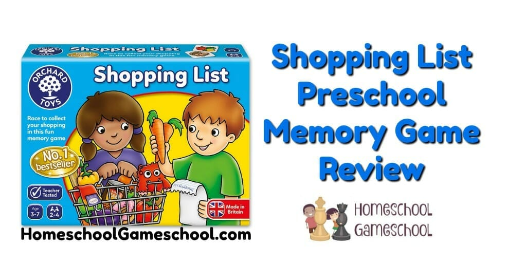 Shopping List Orchard Toys Game Review, Gameschooling & Secular Homeschooling at HomeschoolGameschool.com