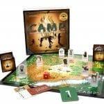 Camp board game, Gameschooling & Secular Homeschooling @ HomeschoolGameschool.com