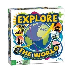 Explore the World Game, Gameschooling @ HomeschoolGameschool.com