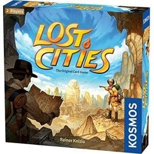 Lost Cities, best games for middle school - Gameschooling @ HomeschoolGameschool.com