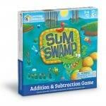 Sum Swamp Math Game, Gameschooling @ HomeschoolGameschool.com