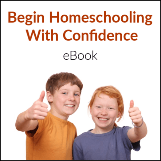 Begin Homeschooling with Confidence - How to Homeschool book by Meg Grooms, HomeschoolGameschool.com