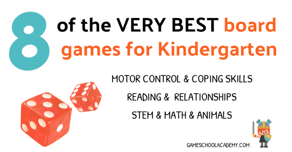 The Best Board Games for Kindergarten